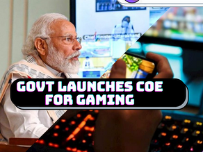 Indian Govt is going to form center of excellence in gaming in collaboration with IIT Bombay
