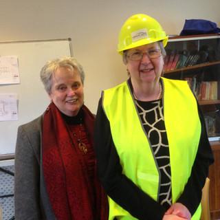 Glenda Richards and Sue Jordan