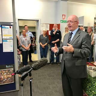 Governor-General at St John's Care