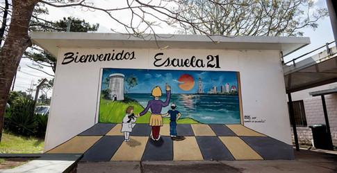 Escuela 21-Punta del Este