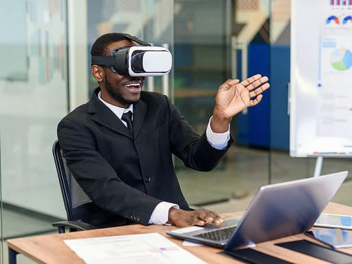 Business and Education Through Virtual and Augmented Reality