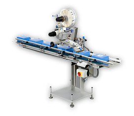 Low cost fully automated product labelling machines for face, base, top and wrap-around labelling.