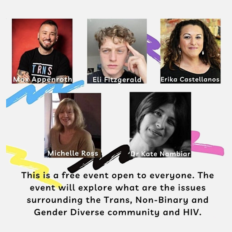 A discussion on HIV issues in the Trans, Non-Binary and Gender Diverse community