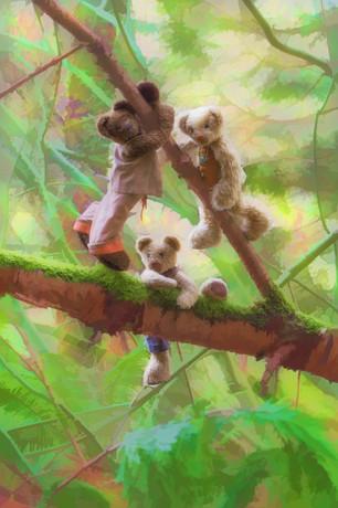 Climbing Bears