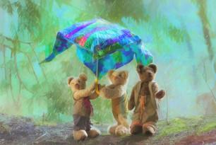Under a Umbrella
