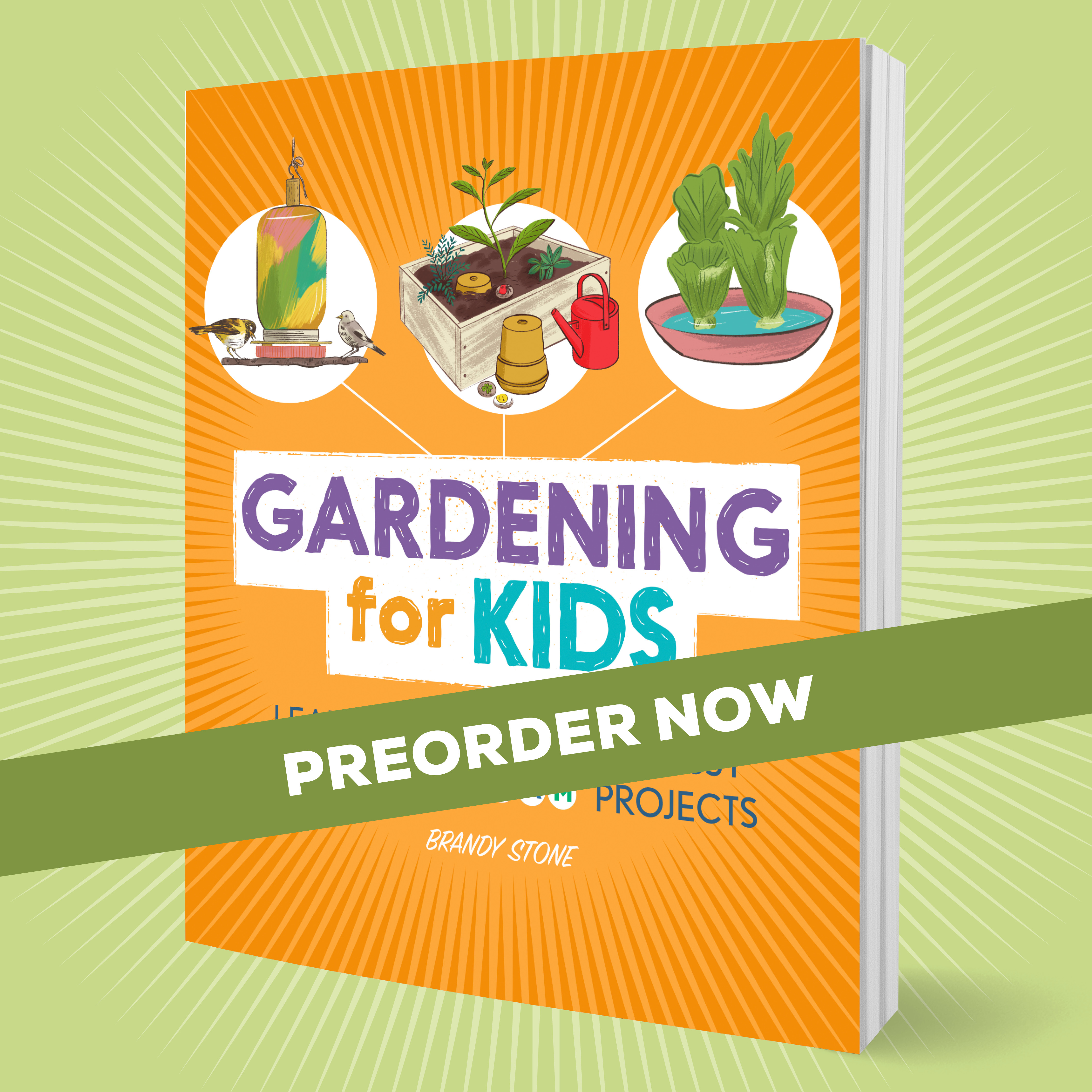 Gardening for Kids Preorder