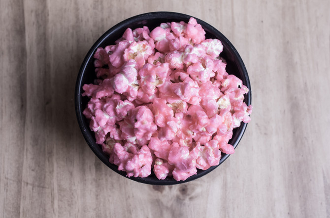 Cherry Blossom Popcorn