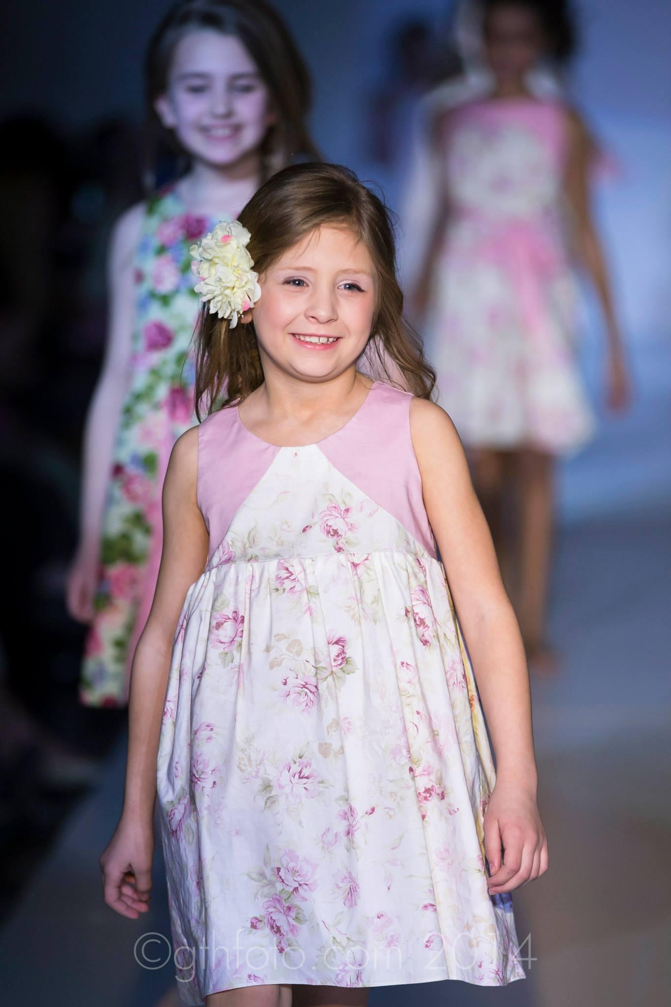 Rosebud Color Block Dress