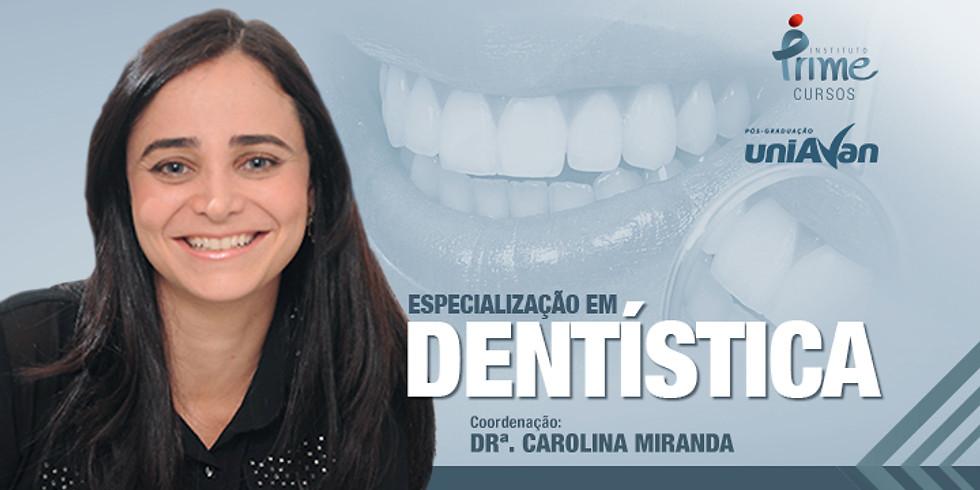 Especialização em Dentística