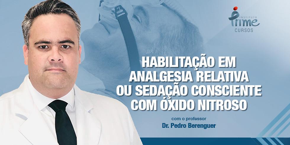 Habilitação em Analgesia Relativa ou Sedação Consciente com Óxido Nitroso