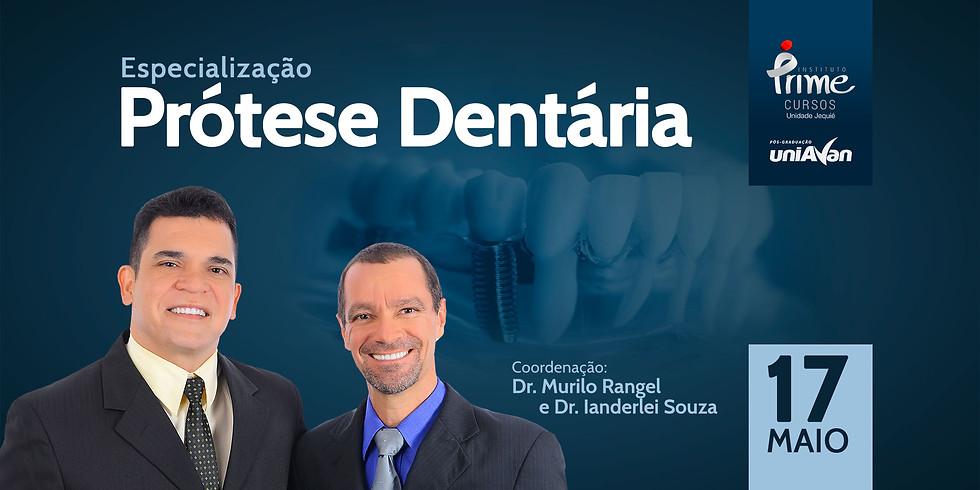Especialização em Prótese Dentária