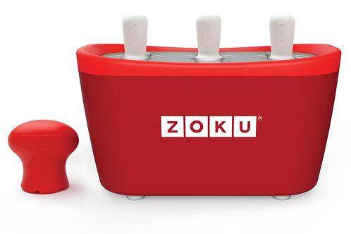 ZOKU Quick Pop Maker | Trio | Rood