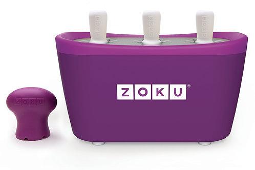 ZOKU Quick Pop Maker | Trio | Paars