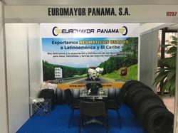 Vista Frontal Stand Euromayor Panamá