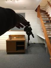 Réception des clés