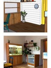 Modélisation de Menm Arh / Installation boutique