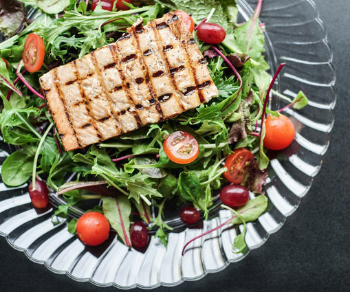 Ike's Place Catering - Salmon Salad - Ik