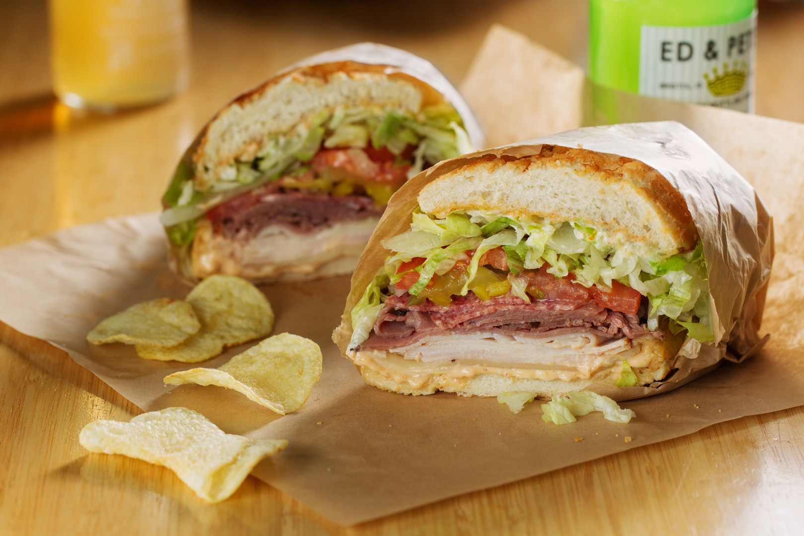 Ike's Place San Mateo Sandwiches - Ike's