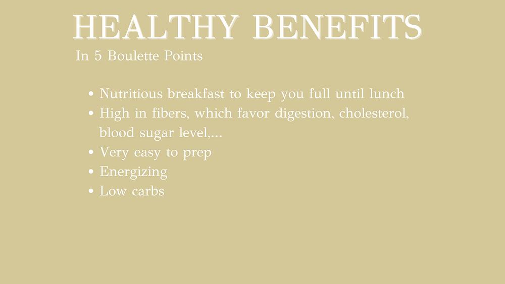 Baked Banana & Peanut butter porridge - 5 healthy benefits