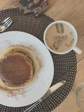 Healthy Pancakes à la cannelle