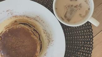 Healthy Yummy Cinnamon Pancakes