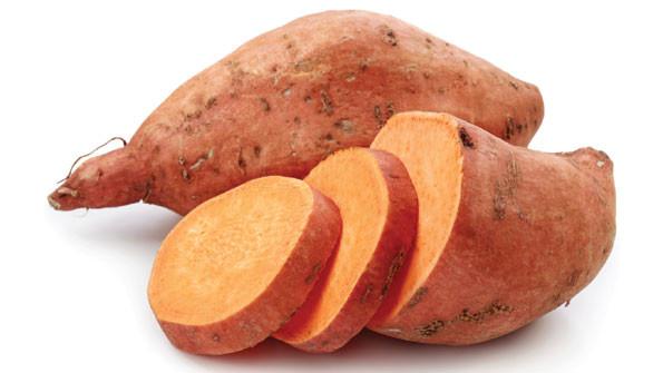 Sweet potatoes, march seasonal veggie