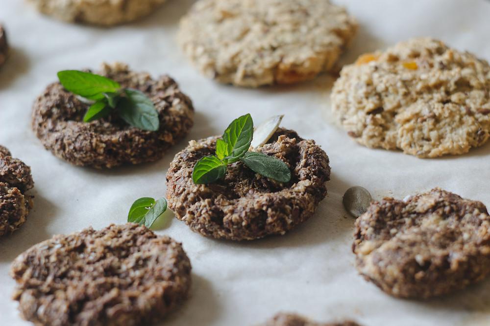 Healthy cookie desserts