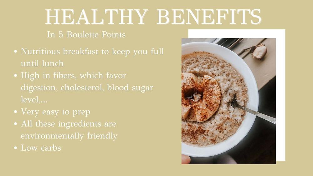 Healthy Breakfast - Apple porridge & its 5 healthy benefits