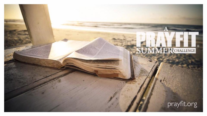 Join me for A PrayFit Summer