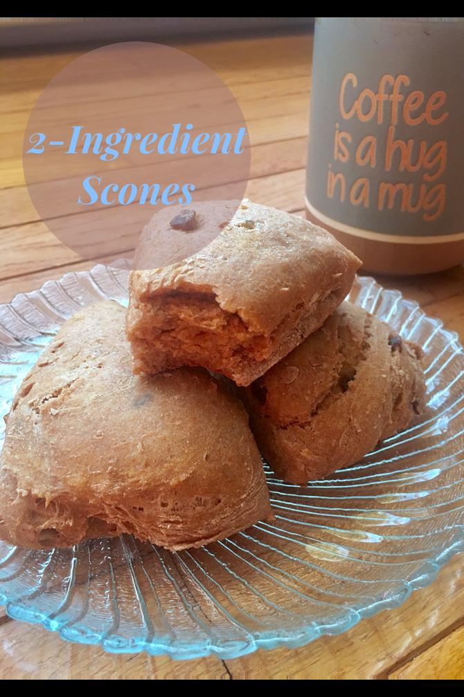 2 Ingredient Scones