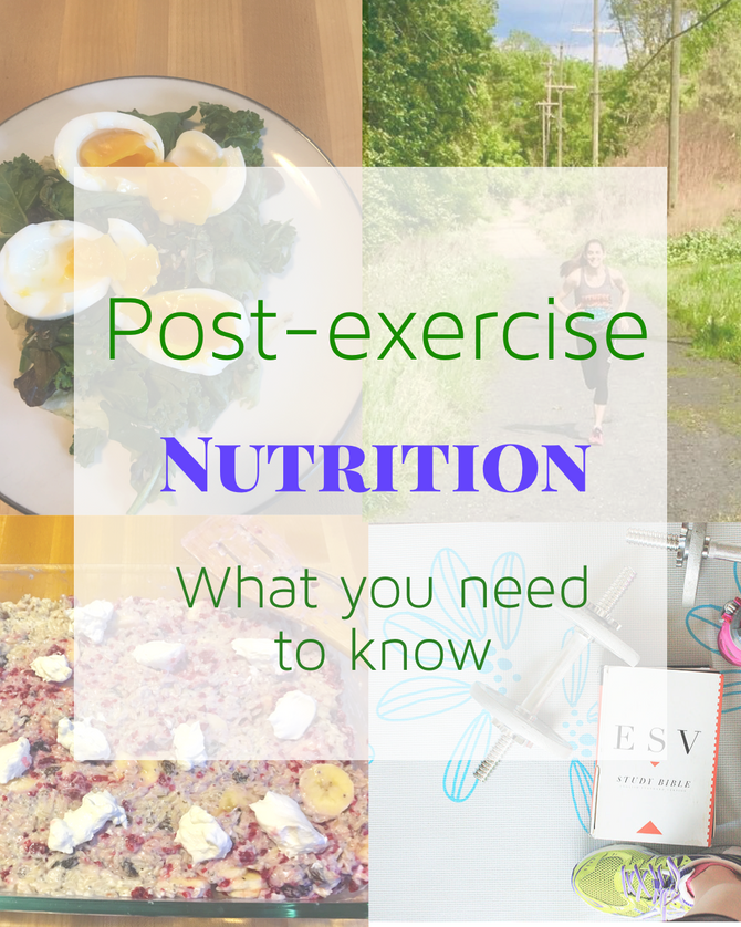 Post- Exercise Nutrition- What you need to know