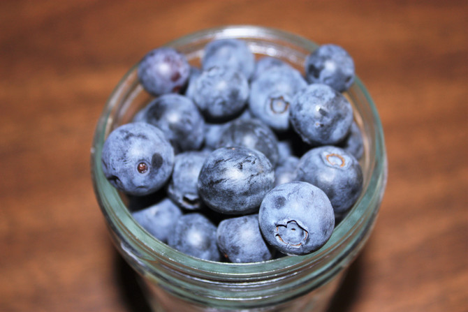 Blueberries for a Quicker Workout Recovery?