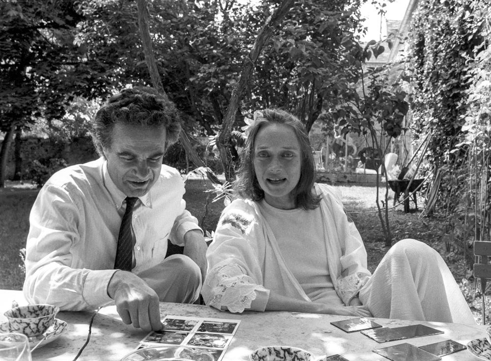 Niki and Jean-Gabriel Mitterrand