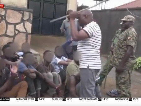 Uganda Officials Charged After Viral Video Shows Them Beating Homeless LGBT Youth