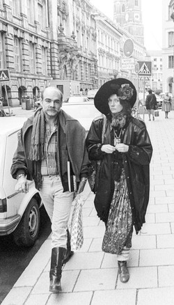 Niki and Ricardo in Munich