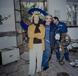 Niki and Jean in Soisy