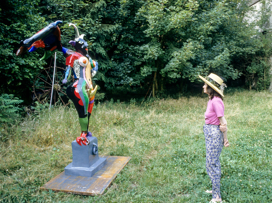 Niki de Saint Phalle and the Devil