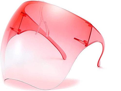 Bevi Goggle Sunglasses Visor Full Face Cover UV 400 Protective Eyewear