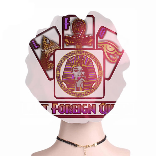 Last Foreign Queen Silk Bonnet