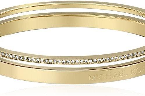 Michael Kors Stainless Steel Bangle Bracelet