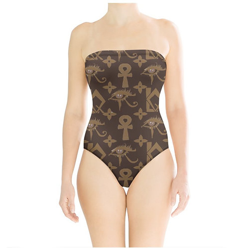 Last Foreign Queen Strapless Swimsuit