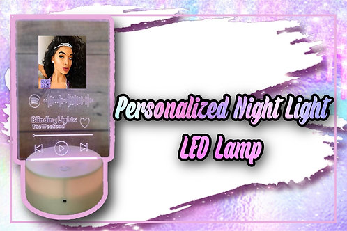 Personalized Music Code Led Light