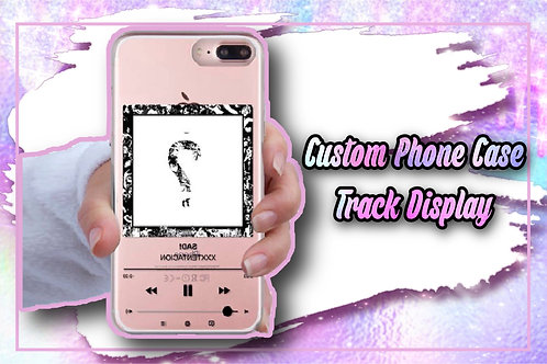 Custom Phone Case Track Display With Scanning Code With Picture