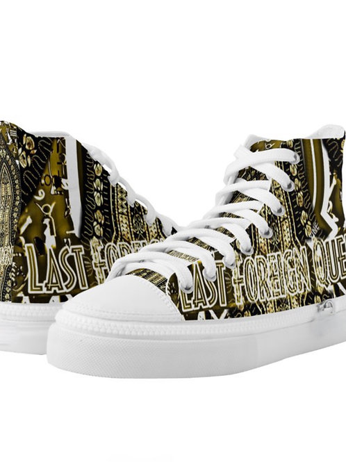 Last Foreign Queen High Top Sneakers