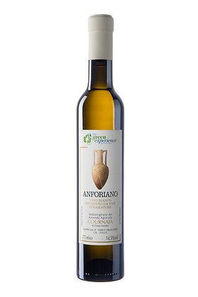 """Vino ottenuto da uve stramature di Moscato """"Anforiano"""" – Az. Agr. Cournaja"""