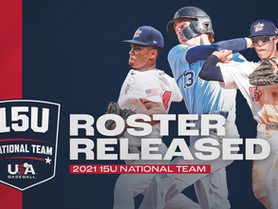 2021 15U National Team Roster Announced: Schiefelbein & Springer Selected