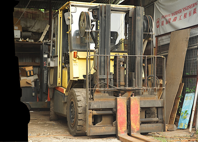 HYSTER H4.50DX Front