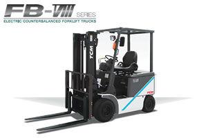 TCM BETTERY FORKLIFT FB-VIII