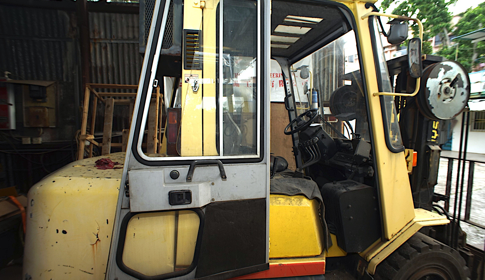 HYSTER H4.50DX Side