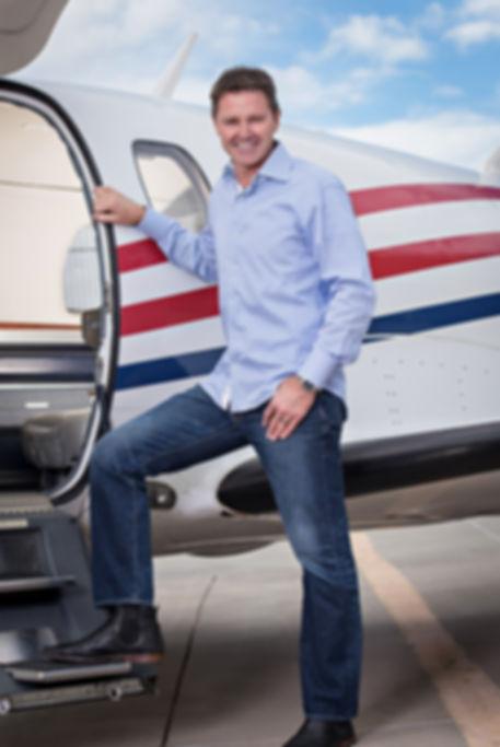 Brendan Clarke CCIM airport real estate broker